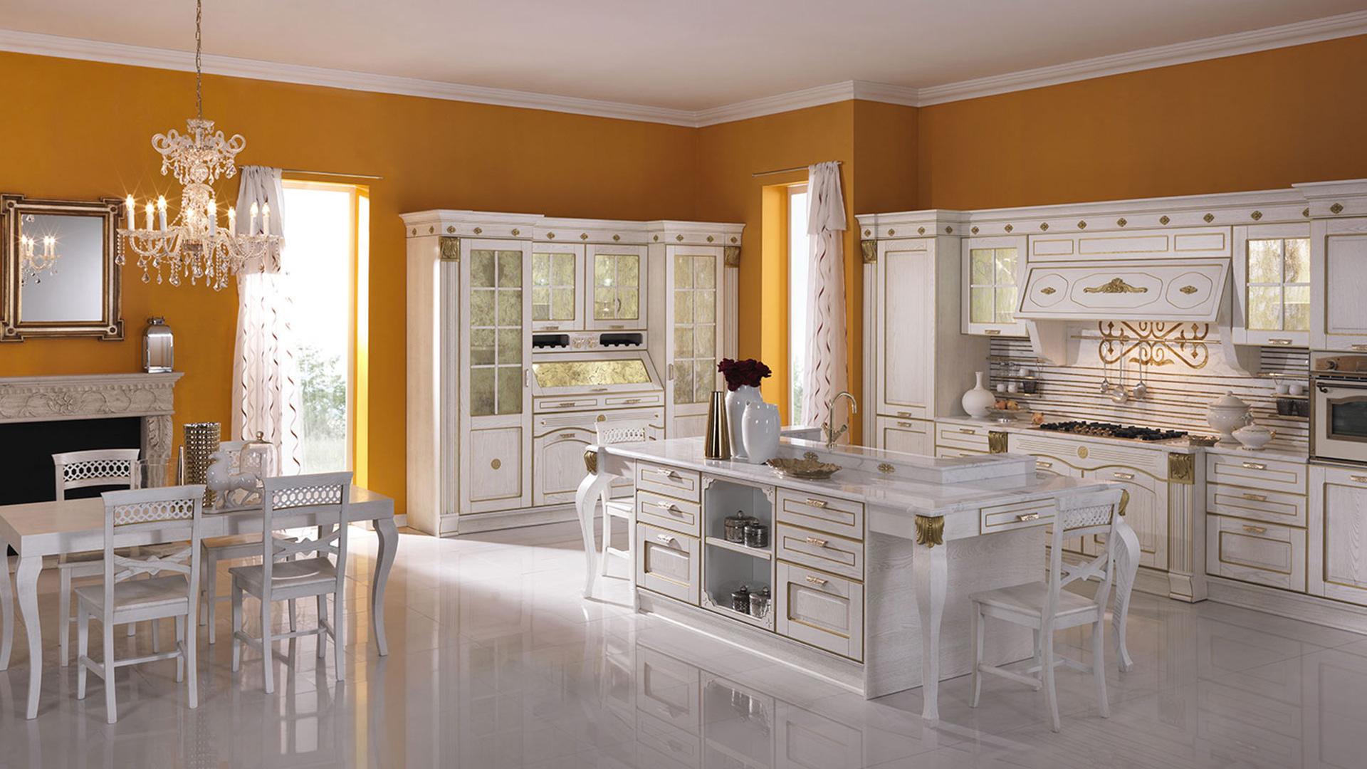 Cucine Classiche : Potrete Scegliere Tra Cucine Moderne Classiche  #B77C14 1920 1080 Foto Di Cucine Bellissime