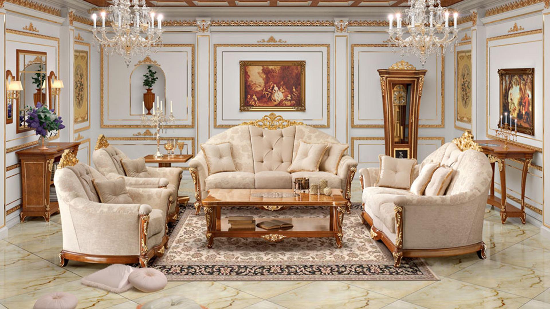 Beautiful Soggiorni In Stile Classico Photos - Idee Arredamento Casa ...